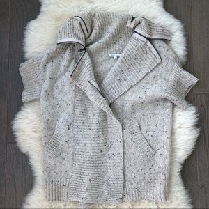 Le Petites Collection Multi-Zip Knit Sweater